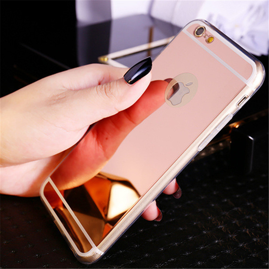 iphone 6 plus gold phone case